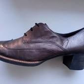 Gabor! Оригиналы. Полностью натуральные и снаружи и внутри туфли ботинки,стелька 29,5 см