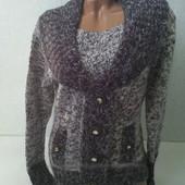 Отличный женский теплый свитер Турция Новый