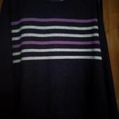 Тепленький мягенький ангоровый свитеров в очень хорошем состоянии.