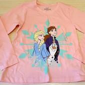 Реглан на дівчинку 'холодне серце', розмір 122/128,бренд Disney