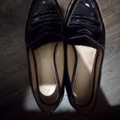 Шкіряні туфлі 39р