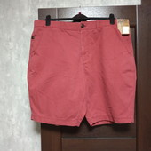 Фирменные новые мужские коттоновые шорты р.44 на пот-54-56 поб-69