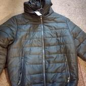 Новая тёплая мужская куртка XL, Италия