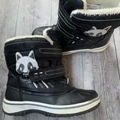 Термо ботинки 29 размер стелька 18,5 см