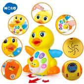 Детская интерактивная игрушка Радостная Утя. Музыкальные и звуковые эффекты