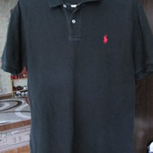 футболка мужская чёрного цвета М ,хб