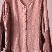оригинальная блузка на пышные формы