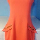 Очень красивое коралловое платье в идеальном состоянии!!!