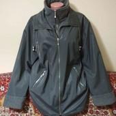осенняя куртка пог. 60 прорезиновая