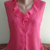 тонкая лёгкая блузка(шифон)