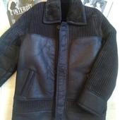Зимняя куртка дубленка