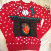Крутой свитерок для фотосессии Папе! CedarWood State M