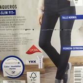 Классные женские джинсы slim fit Esmara Германия размер евро 46