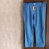 Фирменные новые коттоновые мужские брюки р.58 на пот-53-55, поб-64-66