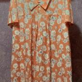 платье искусственный шёлк на пышные формы