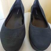 Женские кожаные туфли! Размер 41-42