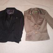 Два стильных, фирменных пиджака одним лотом, можно в школу