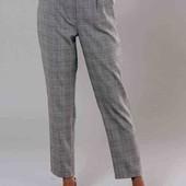 брюки в клітку з кишеньками 12 рр