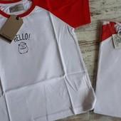 Яркая качественная футболка 100коттон ф1●в лоте р150 пог43 длина 60см 11-14лет Натуральная!