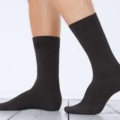 лот =3 пары ! Носки из высококачественного органического хлопка Tchibo германия размер 35/38,черные