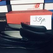 Мокасины мужские туфли, мокасини чоловічі туфлі, 39 размер, Распродажа последних размеров-70%!
