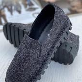 Дизайнерские туфли - мокасины. 35-38 р.