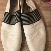 Туфли 27,5 см кожа