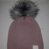 Шикарная зимняя шапка для девочки