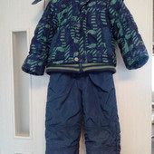 3в1, зимний костюм р. 92 -104 ( оооочень тёплый)