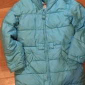 Фирменная зимняя, лёгкая, курточка для девочек 10-12 лет. Смотрите замеры.