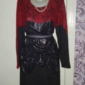 Потрясное платье батал