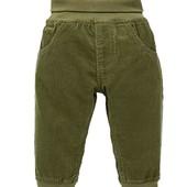 lupilu.хлопковые штанишки из микровельвета рост 80
