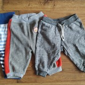 В лоті троє штанів на р. 62-68