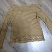 Красивый теплый свитерок, 10% мохер, ПОГ 50, от 3 лото УП бесплатно