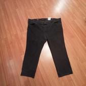 Черные джинсы большого размера (поб-70 см)