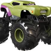 уценка Машинка hot wheels монстр трак 1:24 Халк