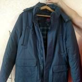 Куртка зимняя мужская. Размера 56-58.