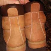 кожаные сапоги в отличном состоянии
