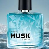 Освіжаючий і благородний Musk Freeze - туалетна вода для чоловіків від Avon