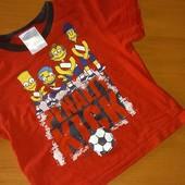 Футболка для мальчика на 4-5лет,на рост 110