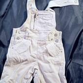 Фирменный стильный джинсовый комбинезон