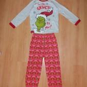 В идеале! Красивая Хлопковая пижама 13-14 л и р 158-164 см!
