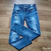 Собирай лоты) Красивенные стильные джинсы с рванками для девочки 11-14лет