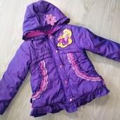 Зимняя курточка от Disney store на возраст 5-6 лет. Рост 110-116 см. Состояние очень хорошее!
