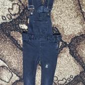комбез джинсовий чорний