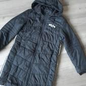 Теплая зимняя курточка для девочки S.Oliver! Германия! 152р. Состояние идеальное!!!