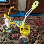 детский велосипед унисек.