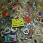 Лот 50 конфет)