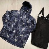 Германия!!! Суперовый лыжный костюм, зимний костюм на подростка! 158/164, можно мужчине на С!