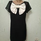 Эксклюзивное нарядное яркое платье с бантом и пайетками р.10 Акция читайте Новое